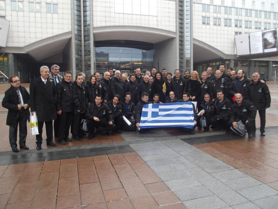 Palmie gastronomy sponsor's Hellenic Chef's Association at the European Parliament in Brussels