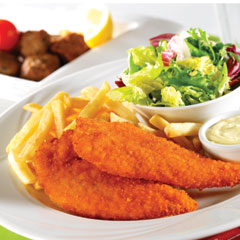 Schnitzel Chicken in Wholesale Package